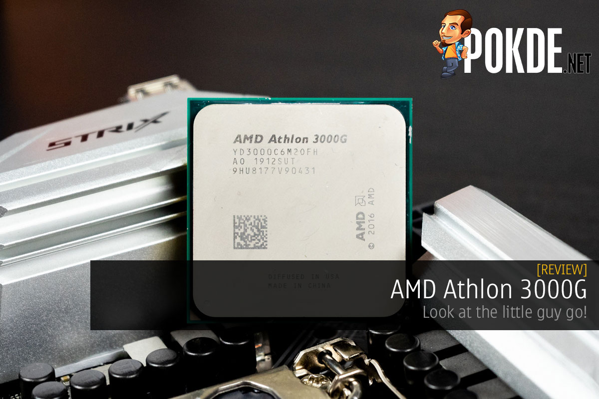 AMD Athlon 3000G Review 14