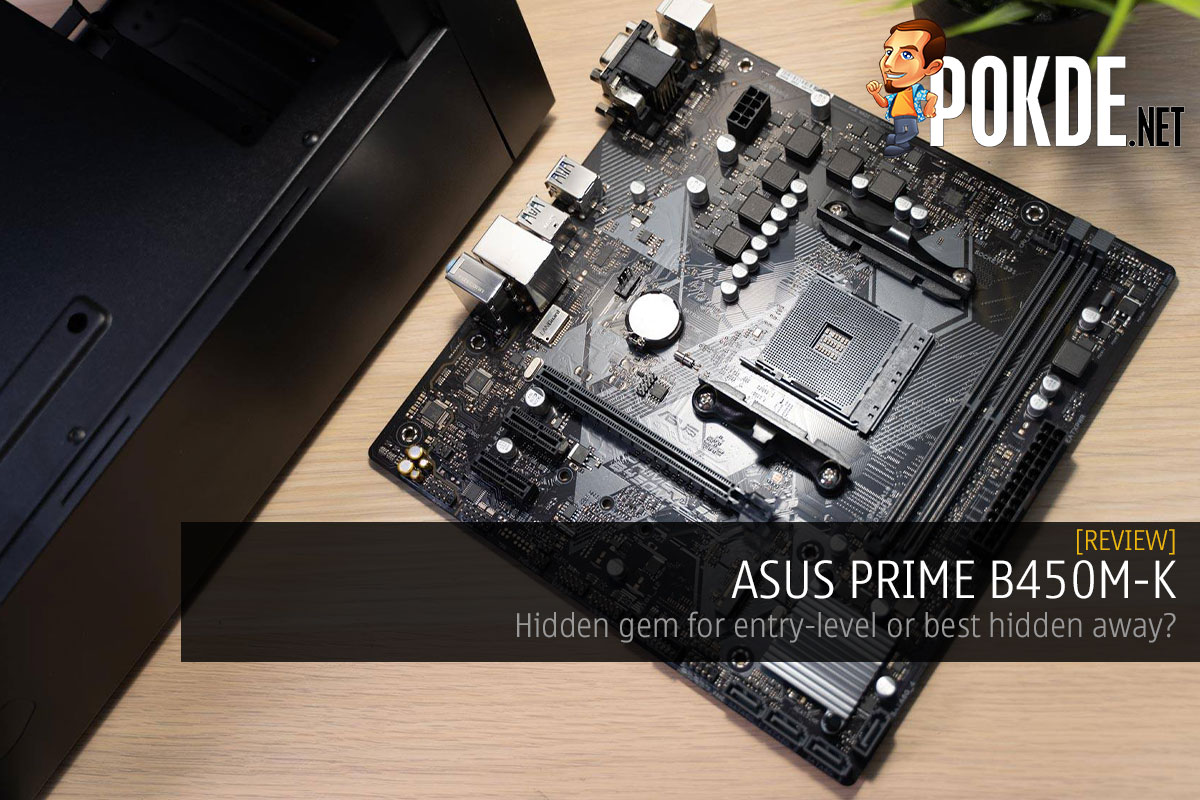 ASUS PRIME B450M-K Review – Hidden gem for entry level or best hidden away? 19