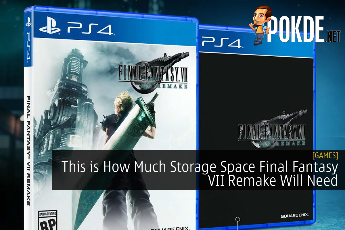 This is How Much Storage Space Final Fantasy VII Remake Will Need
