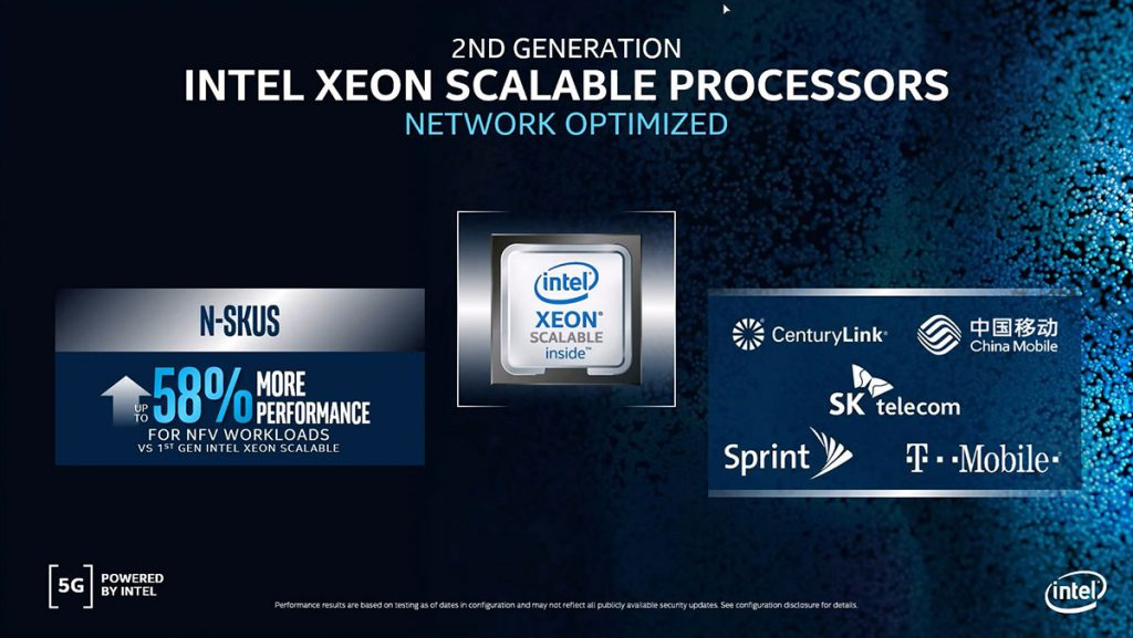 Intel announces latest members of their 5G infrastructure portfolio 31