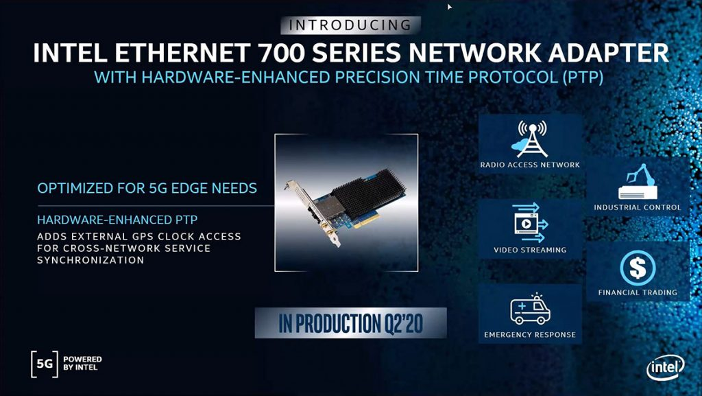 Intel announces latest members of their 5G infrastructure portfolio 33