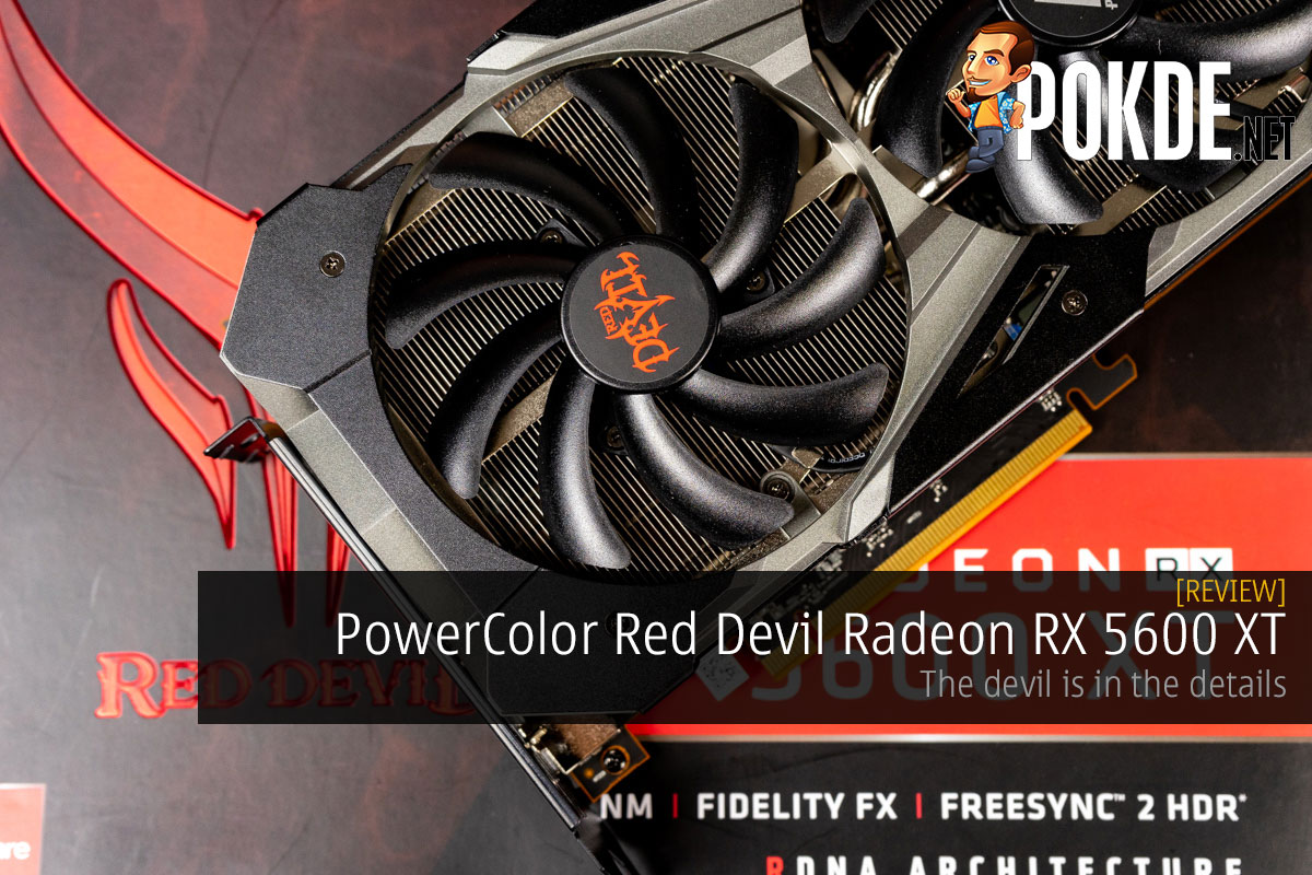 PowerColor Red Devil Radeon RX 5600 XT Review — the devil is in the details 12