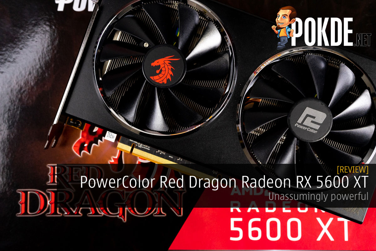 PowerColor Red Dragon Radeon RX 5600 XT Review — unassumingly powerful 17
