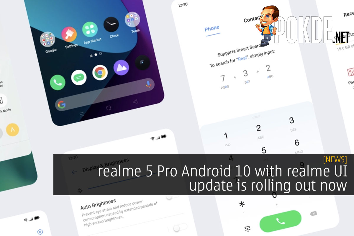 realme 5 Pro Android 10 with realme UI update rolling out now 10