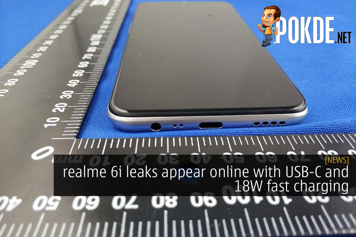 realme 6i leaks appear online with USB-C and fast charging 9