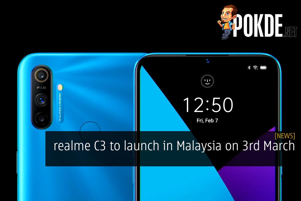 realme c3 malaysia launch