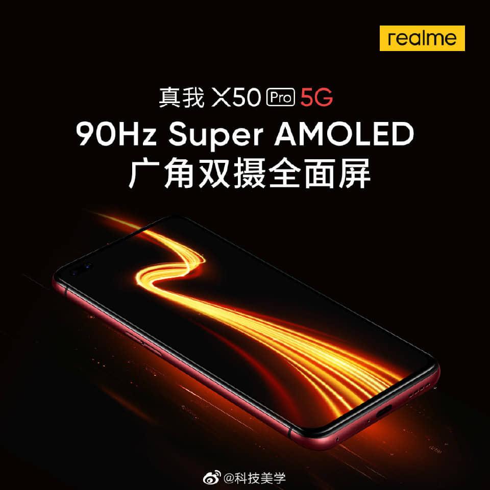 realme x50 pro 5g 90 hz superamoled