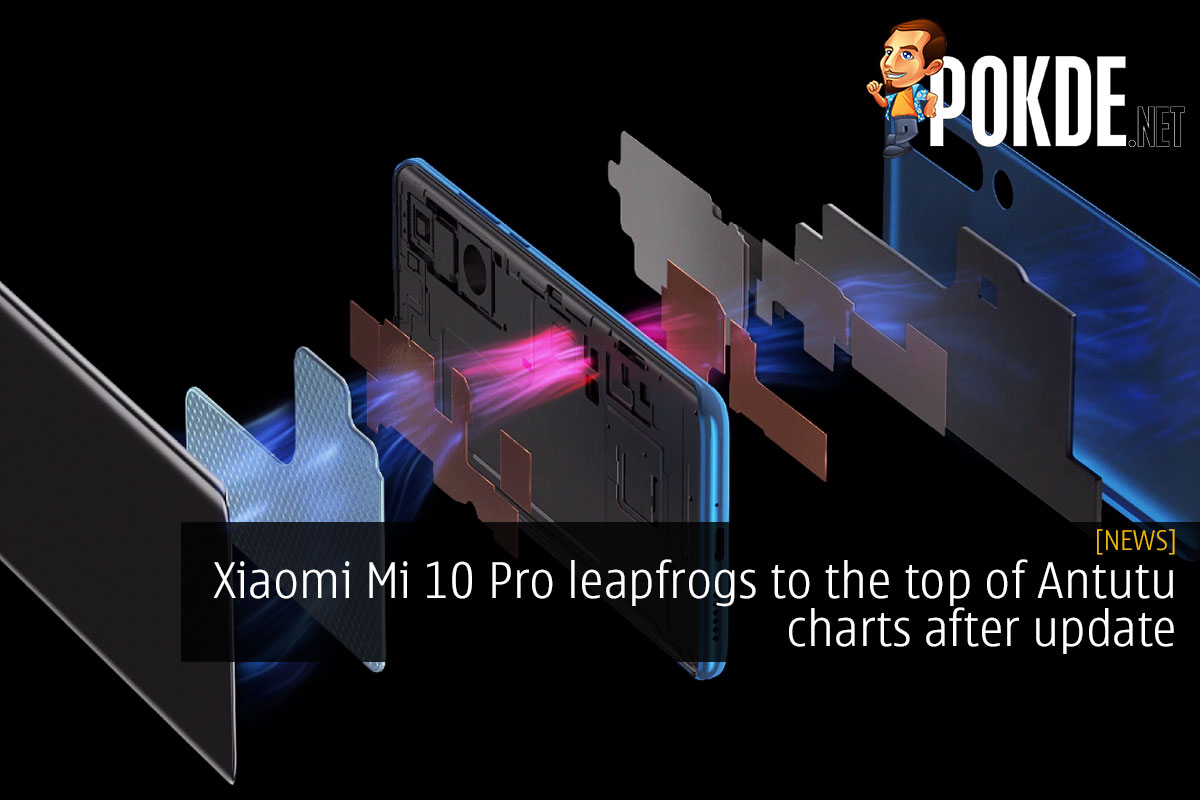 Xiaomi Mi 10 Pro leapfrogs to the top of Antutu charts after update 17