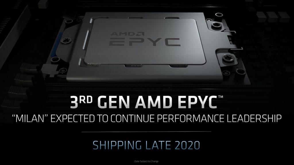 amd epyc 3rd gen