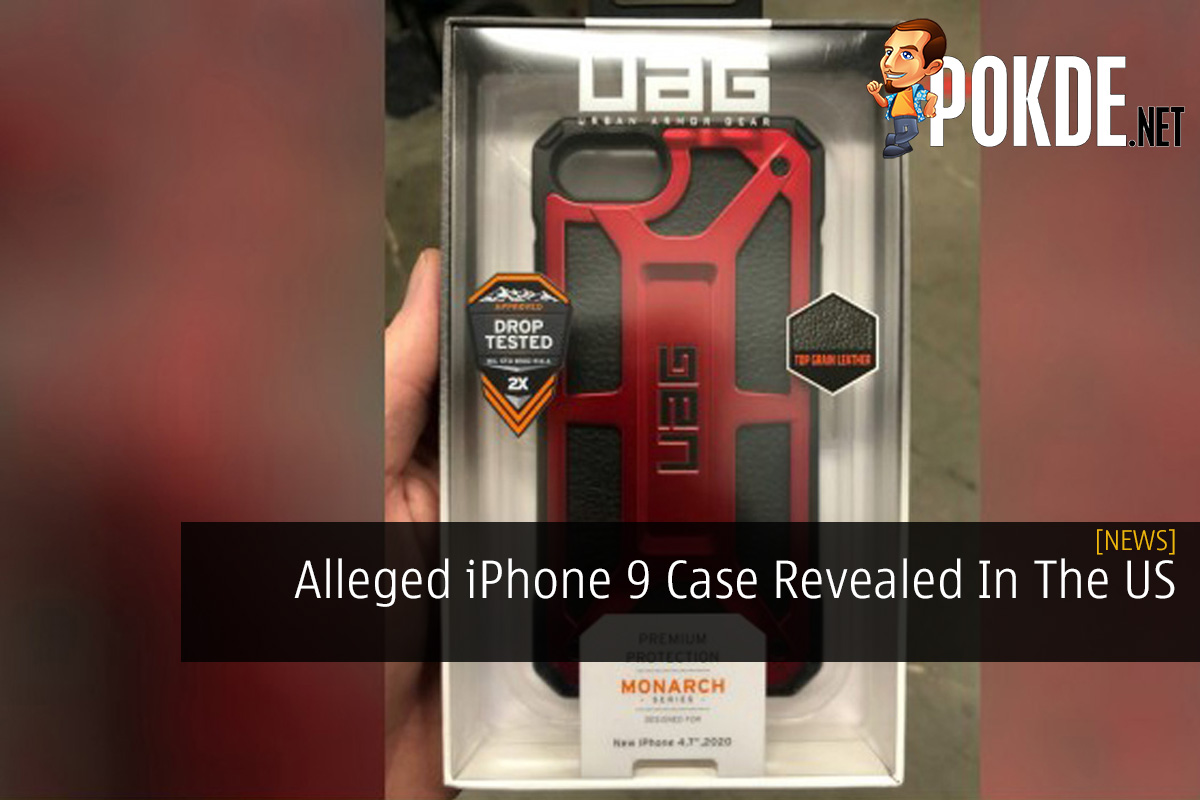 Alleged iPhone 9 Case Revealed In The US 10