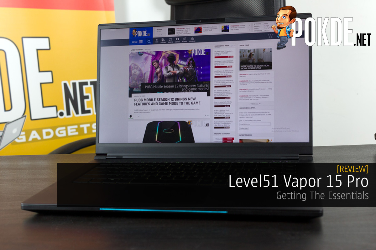 Level51 Vapor 15 Pro Review — Getting The Essentials Right 9