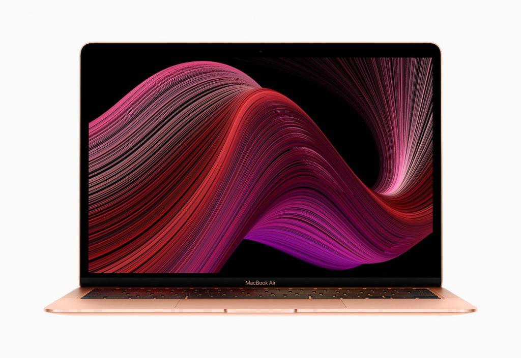 macbook air retina gold