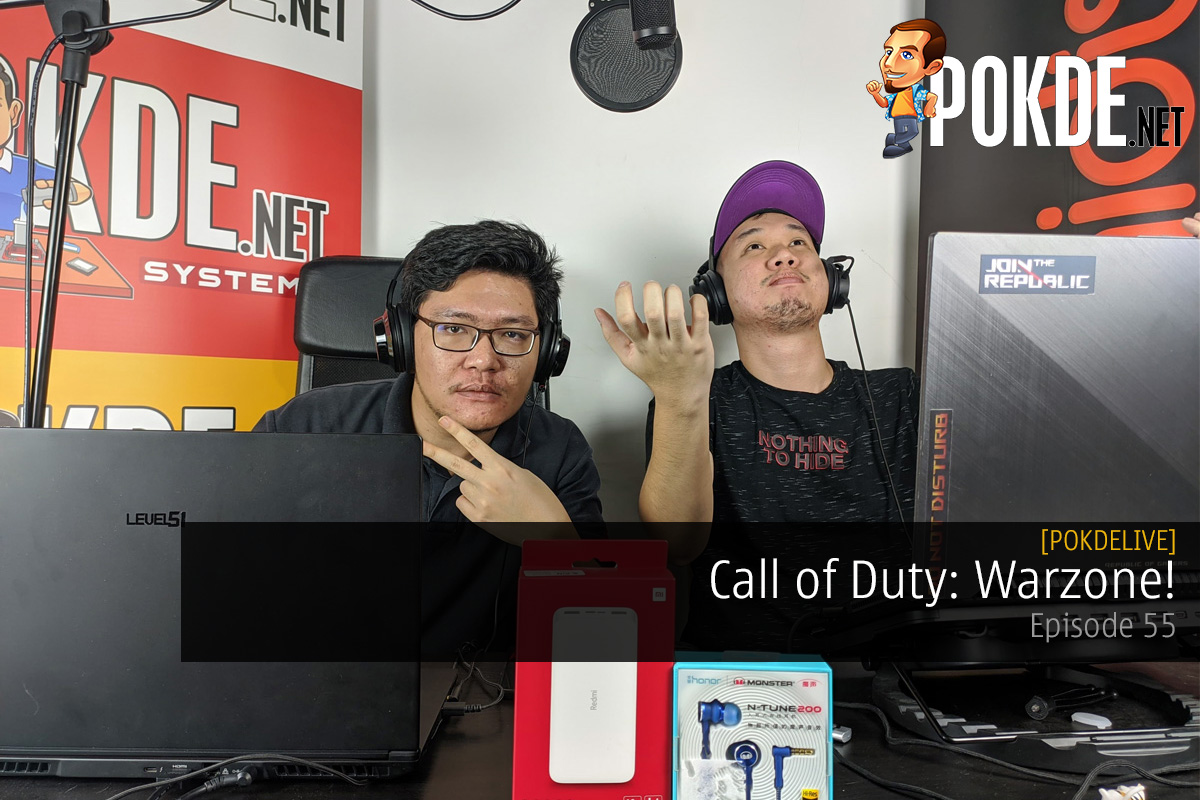 PokdeLIVE 55 — Call of Duty: Warzone! 20
