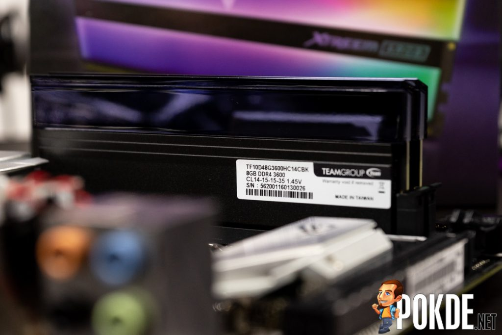 TEAMGROUP T-Force Xtreem ARGB DDR4-3600 CL14 Memory Review — beautiful form and function 27