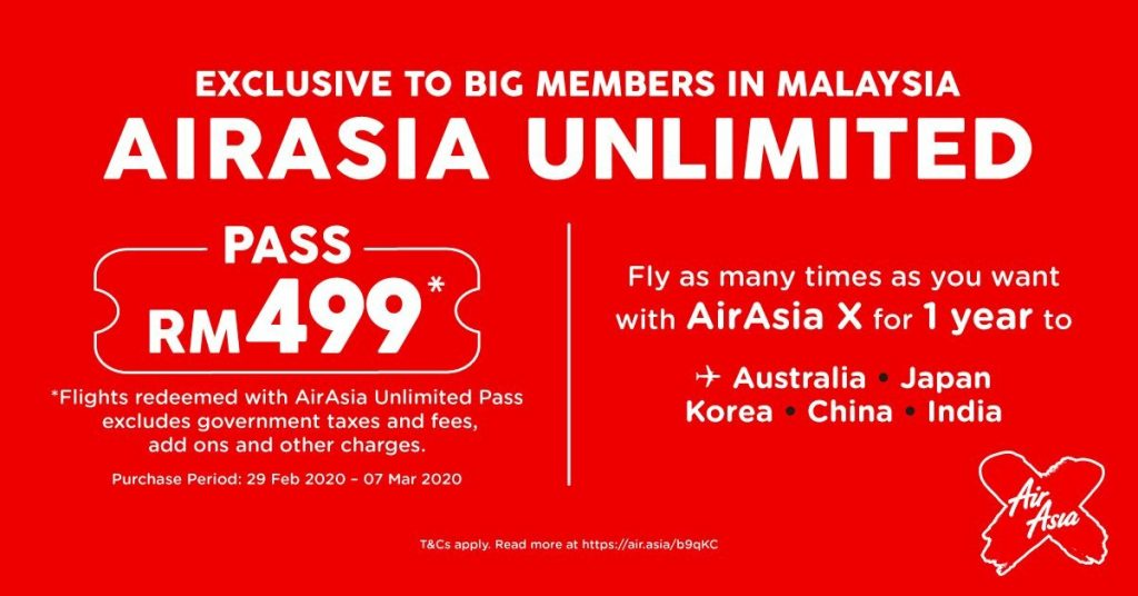 AirAsia Unlimited Pass Has 4 Odd Limitations That You Need to Know About