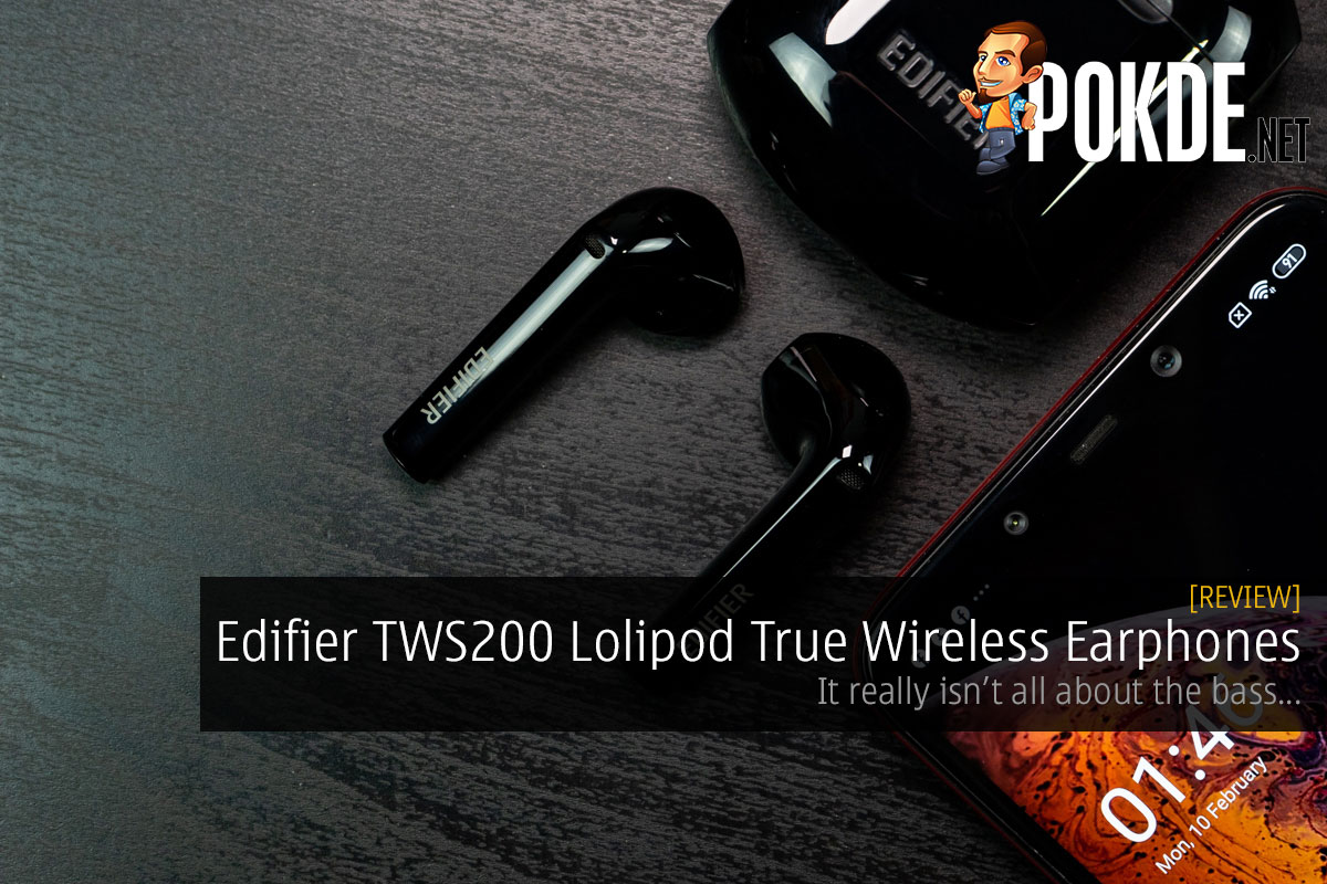 Edifier TWS200 Lolipod True Wireless Earphones Review — it really isn't all about the bass... 9