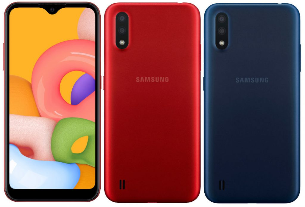 Samsung Galaxy A01 Unveiled with Affordable Price and Snapdragon SoC 29
