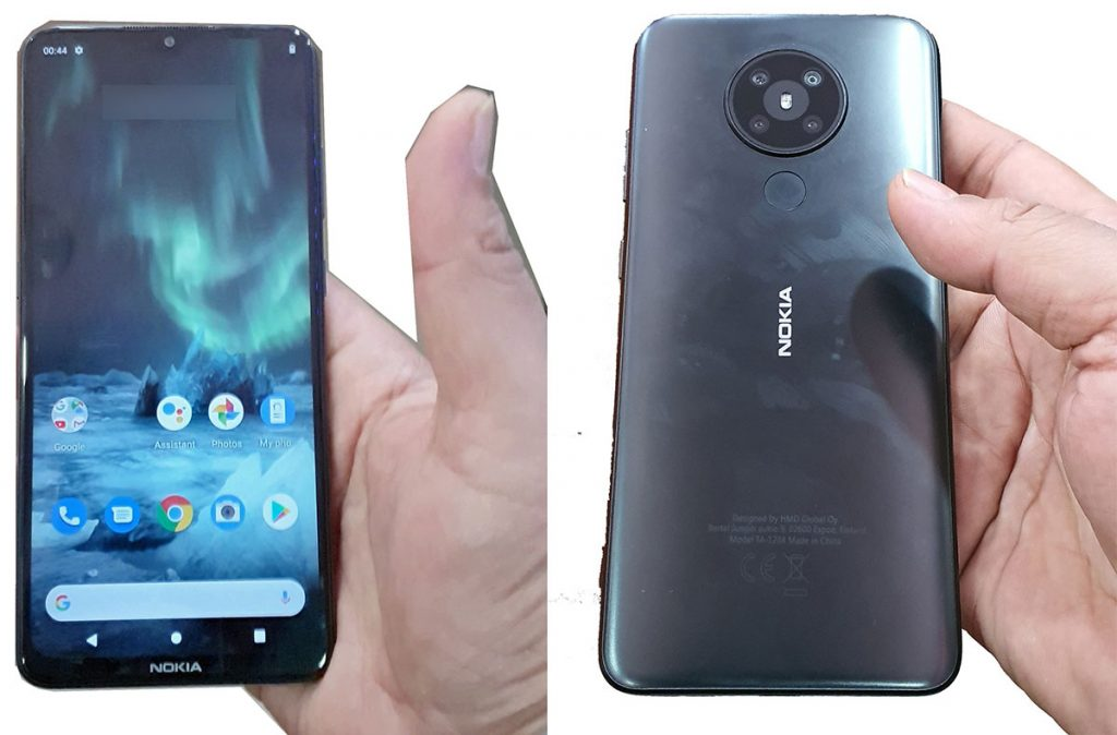 nokia 5.3 front and back leak