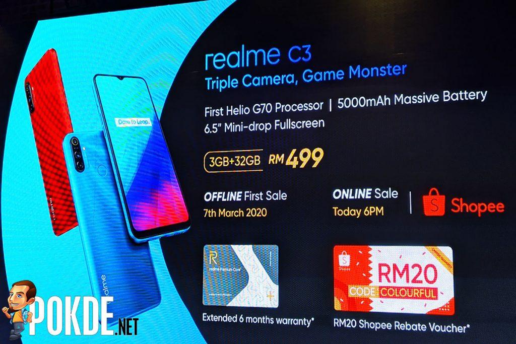 realme c3 malaysia promo