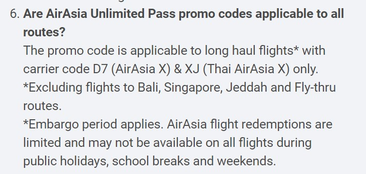 [UPDATED] AirAsia Unlimited Pass Has 4 Odd Limitations That You Need to Know About 20