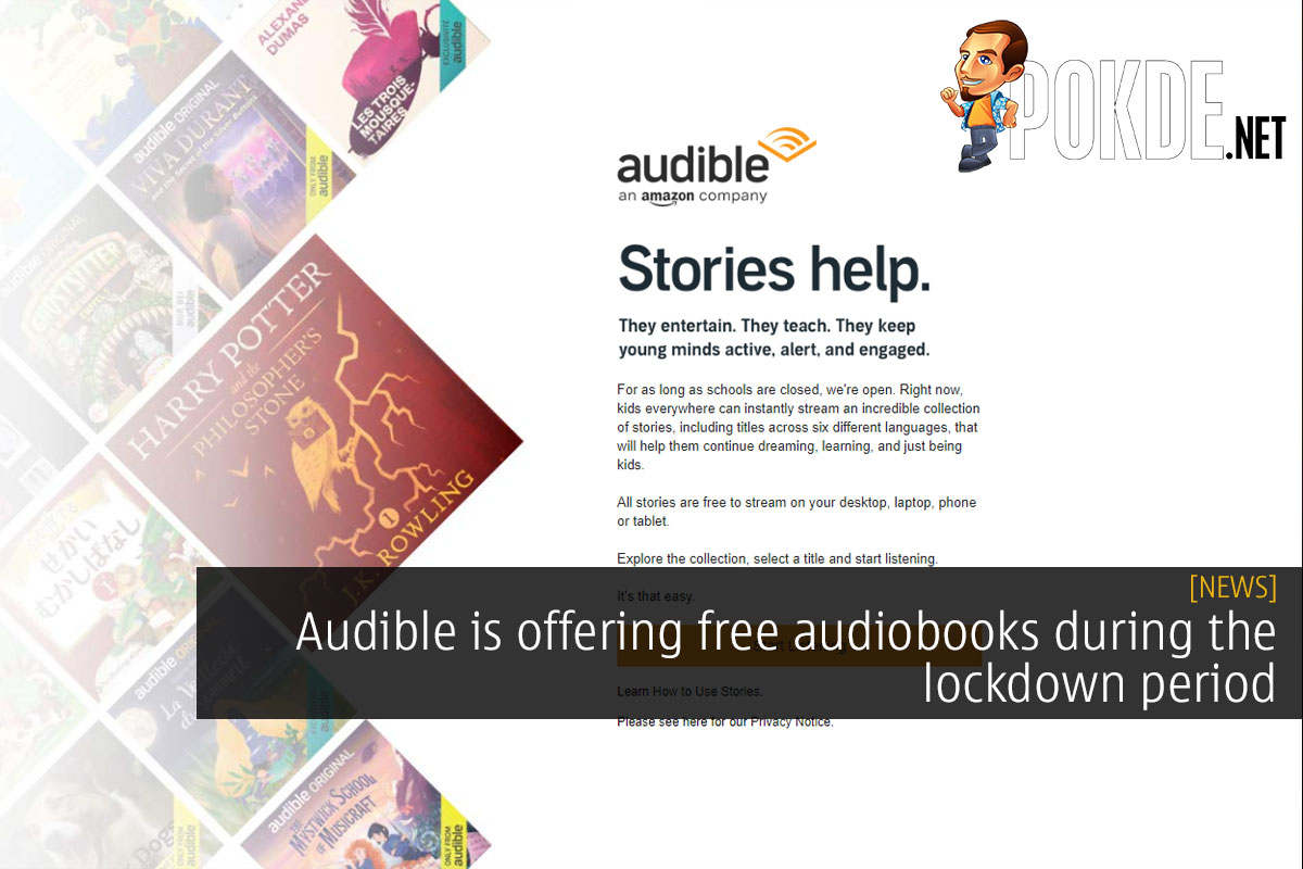 Audible is offering free audiobooks during the lockdown period 11