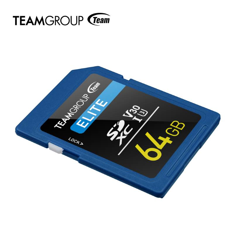 teamgroup elite sdxc memory card