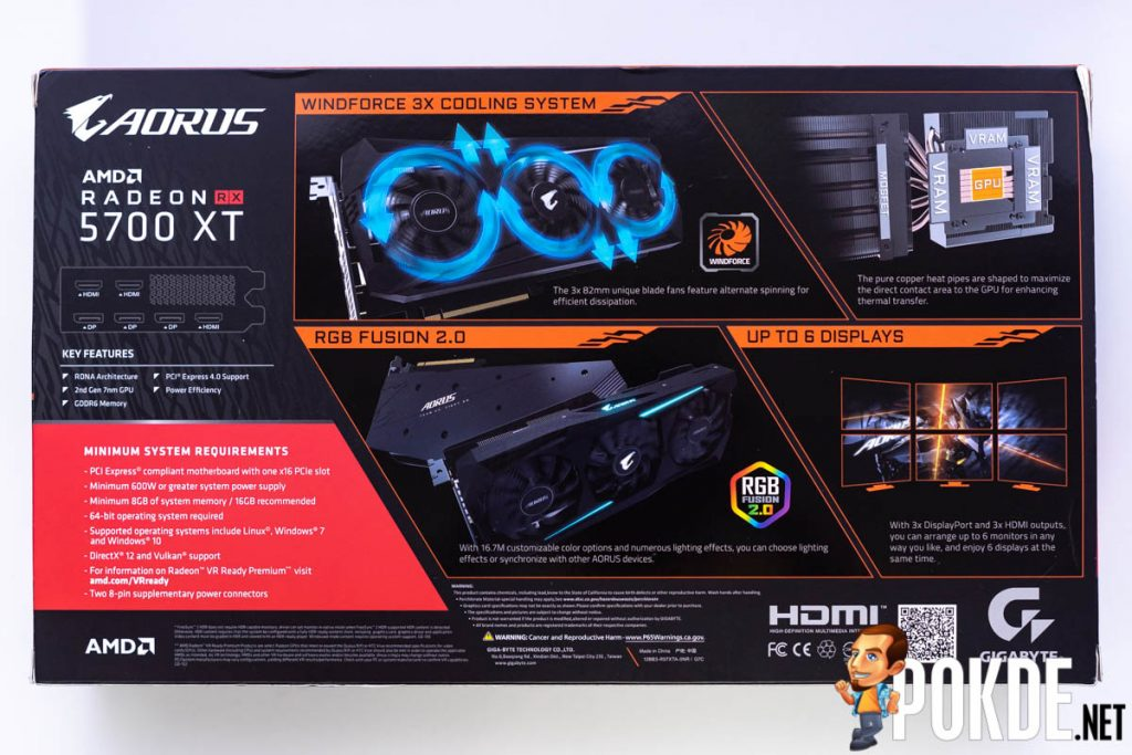 GIGABYTE AORUS Radeon RX 5700 XT Review 24