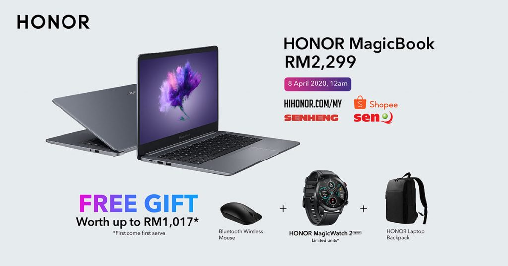 HONOR launched the HONOR 9X Pro, HONOR MagicBook and HONOR MagicWatch 2 Sakura Gold today! 24
