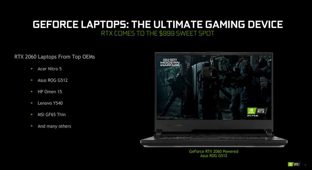 NVIDIA unveils new Max-Q technologies and GeForce RTX SUPER for laptops 33