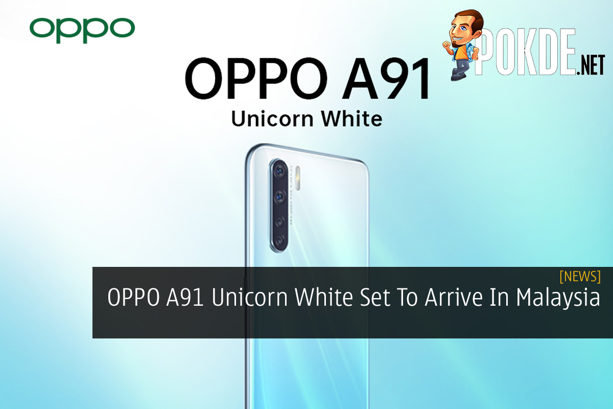 OPPO A91 Unicorn White Set To Arrive In Malaysia 10