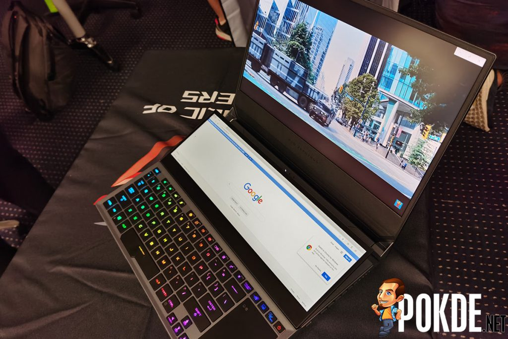 ROG Zephyrus Duo 15 dual screen
