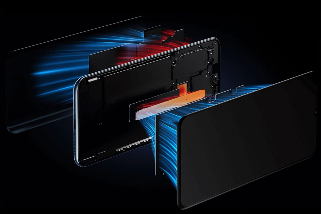 Xiaomi Mi 10 Lite Zoom Edition cooling