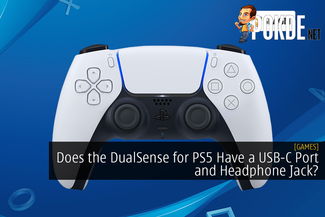 Does the DualSense for PS5 Have a USB-C Port and Headphone Jack?