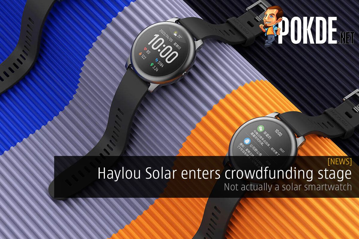Haylou Solar enters crowdfunding stage — not actually a solar smartwatch 9