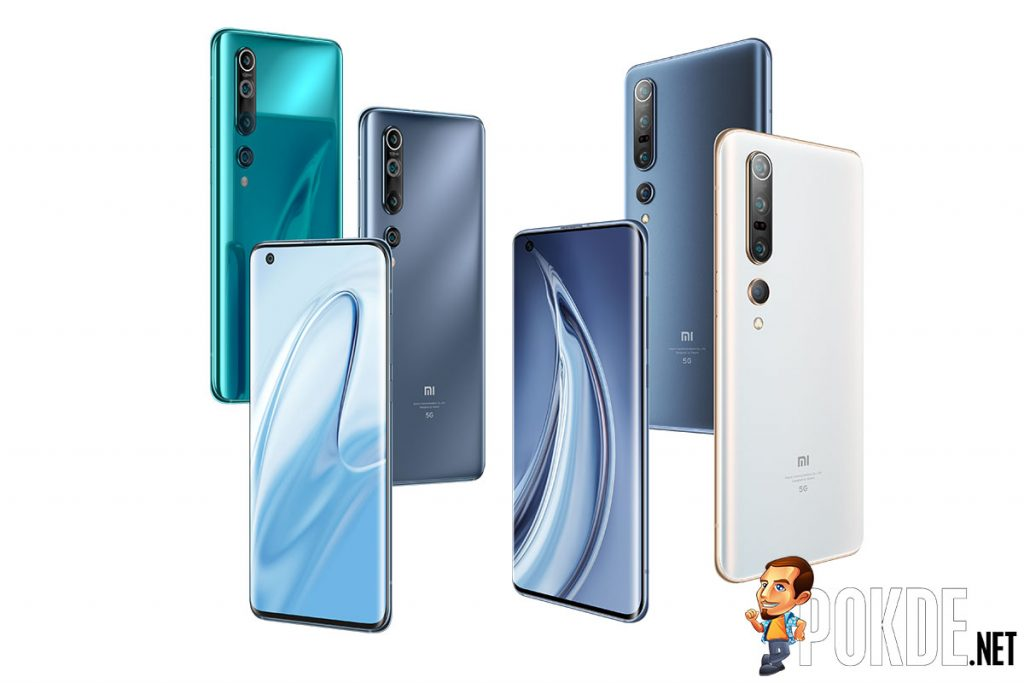 xiaomi mi 10 and Mi 10 pro colors