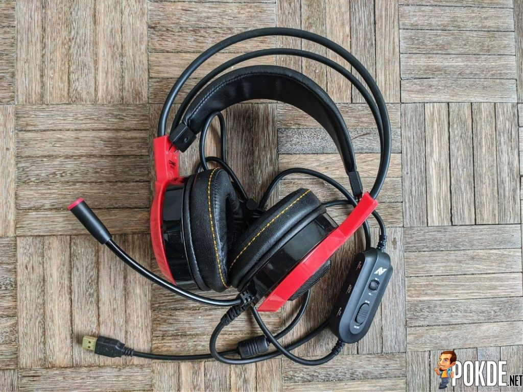 Overall image of the Abkoncore CH60 7.1 Gaming Headset