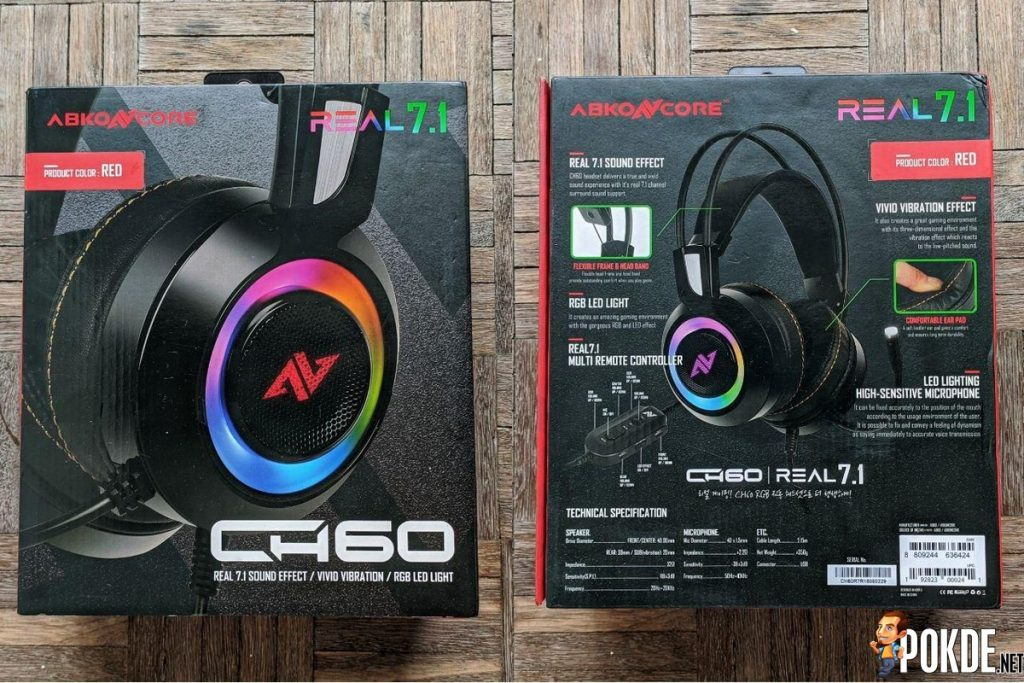Abkoncore CH60 7.1 Gaming Headset Review - Delivering true surround sound on a budget 23
