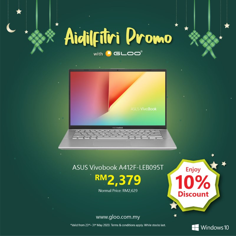 Save up to RM1434 and get more freebies with the latest Modern PC in GLOO's Aidilfitri Promo! 21