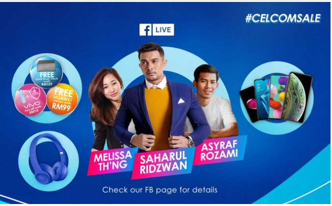 Celcom is Offering 100,000 Free Smartphones, Discounts, and More This Ramadan and Raya Season 21