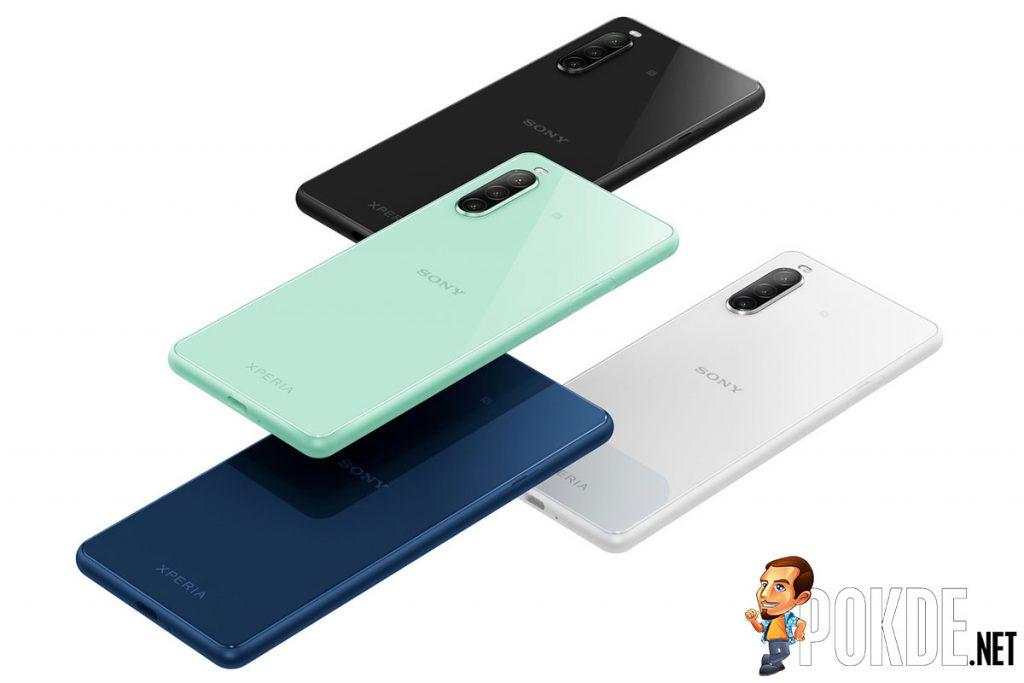 Sony Xperia 10 II colors