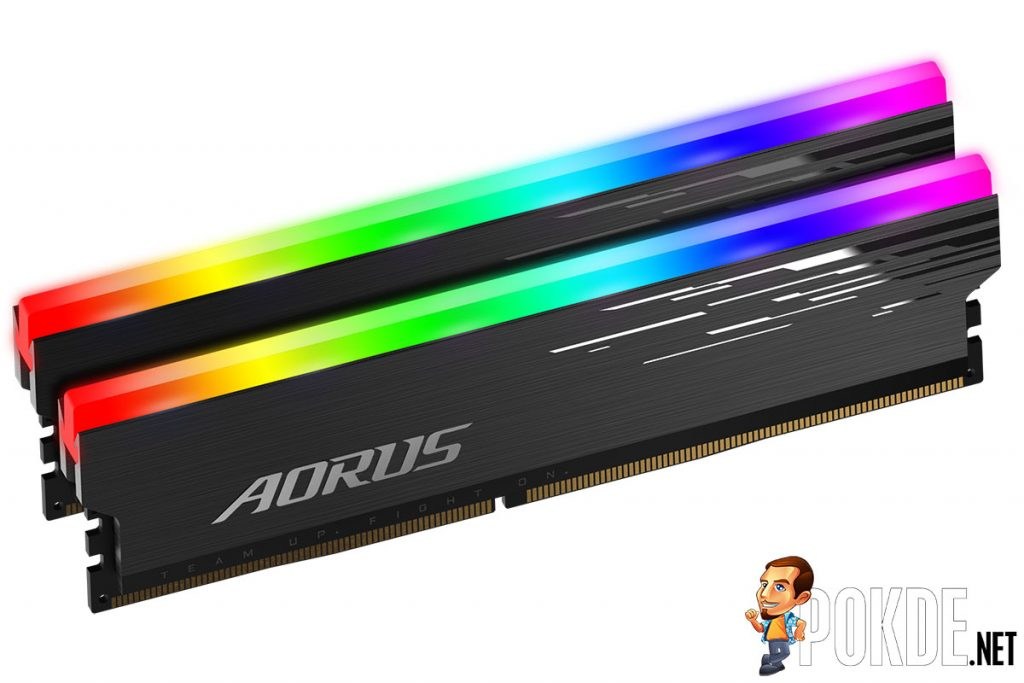 gigabyte aorus rgb memory 4400 mhz design