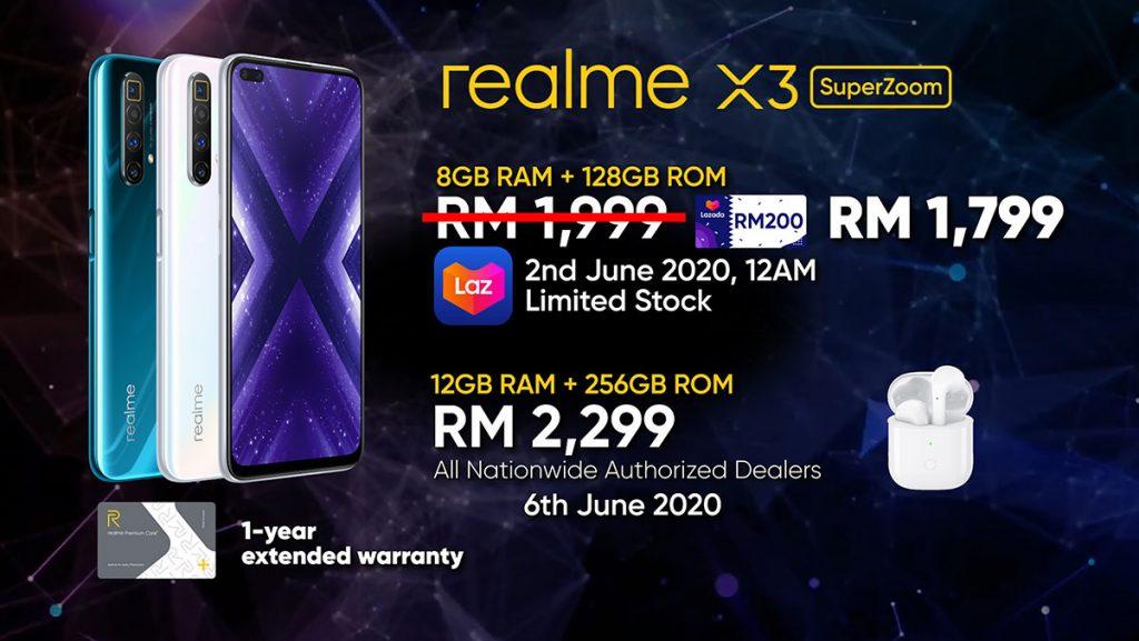 realme X3 SuperZoom price Malaysia