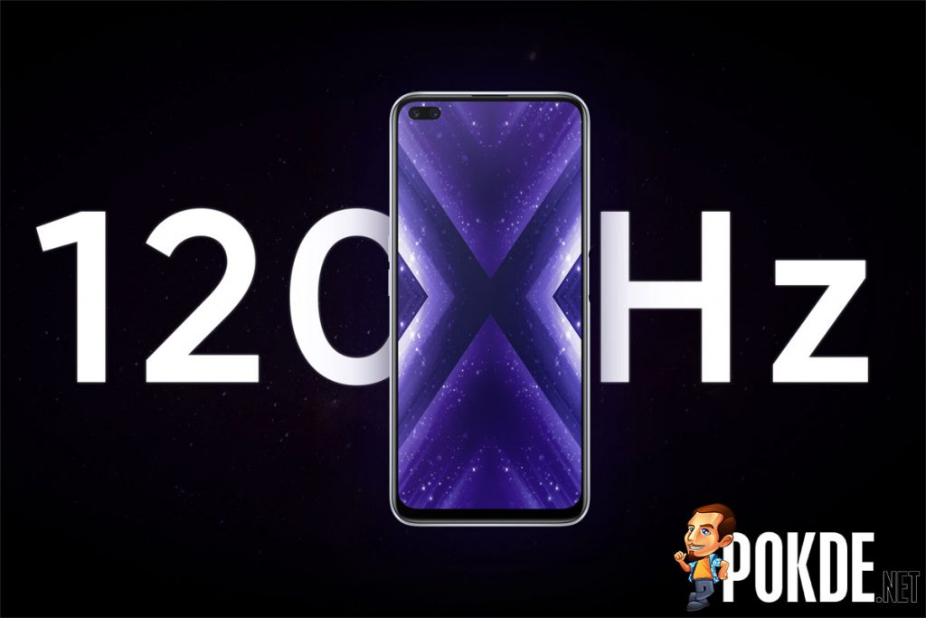 realme X3 SuperZoom 120 hz screen