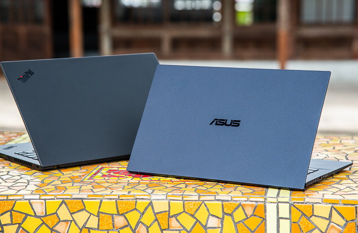 ASUS ExpertBook B9450 vs Lenovo ThinkPad X1 Carbon — by the numbers 22