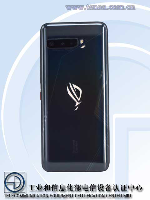 ROG Phone 3's design revealed by TENAA listing 18