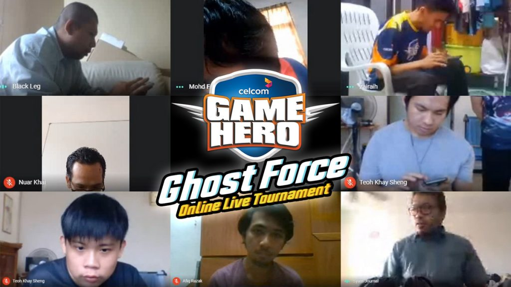 Celcom Rewards Game Hero - Ghost Force Finalists With RM50,000 23