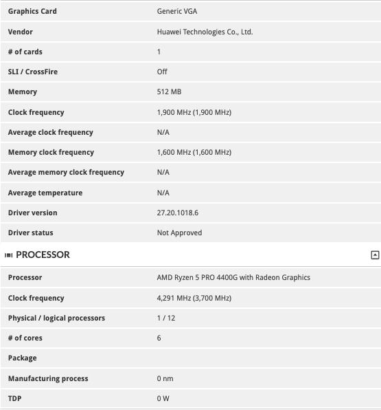 AMD Ryzen 5 PRO 4400G and Ryzen 3 PRO 4350G Specifications Appear on 3DMark! Most Powerful APU yet! 28