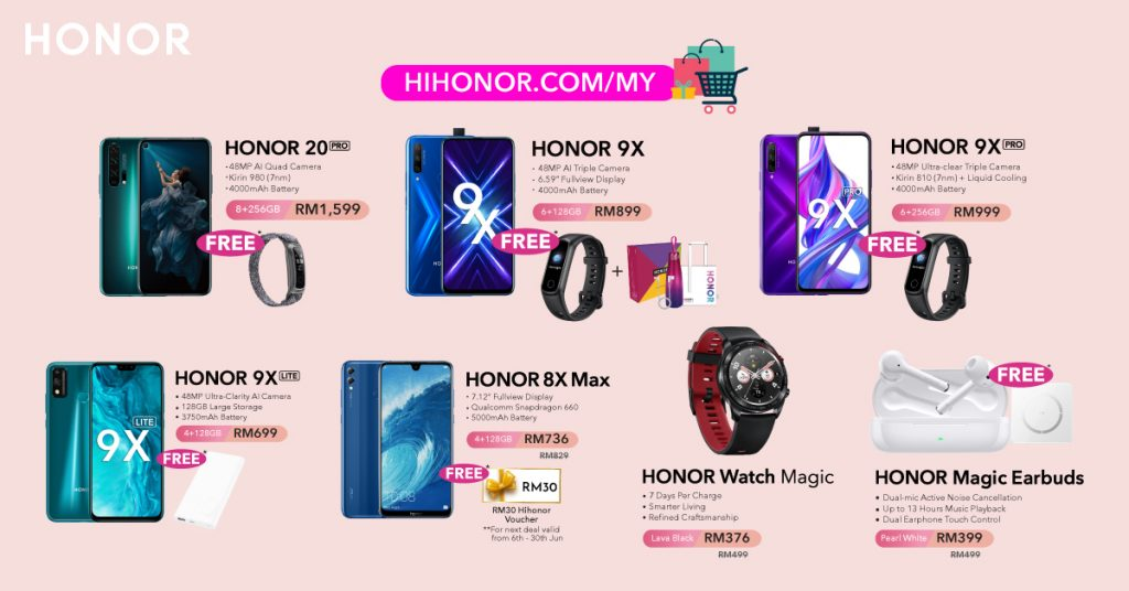 HONOR Malaysia celebrates 6th Anniversary with awesome deals! 19
