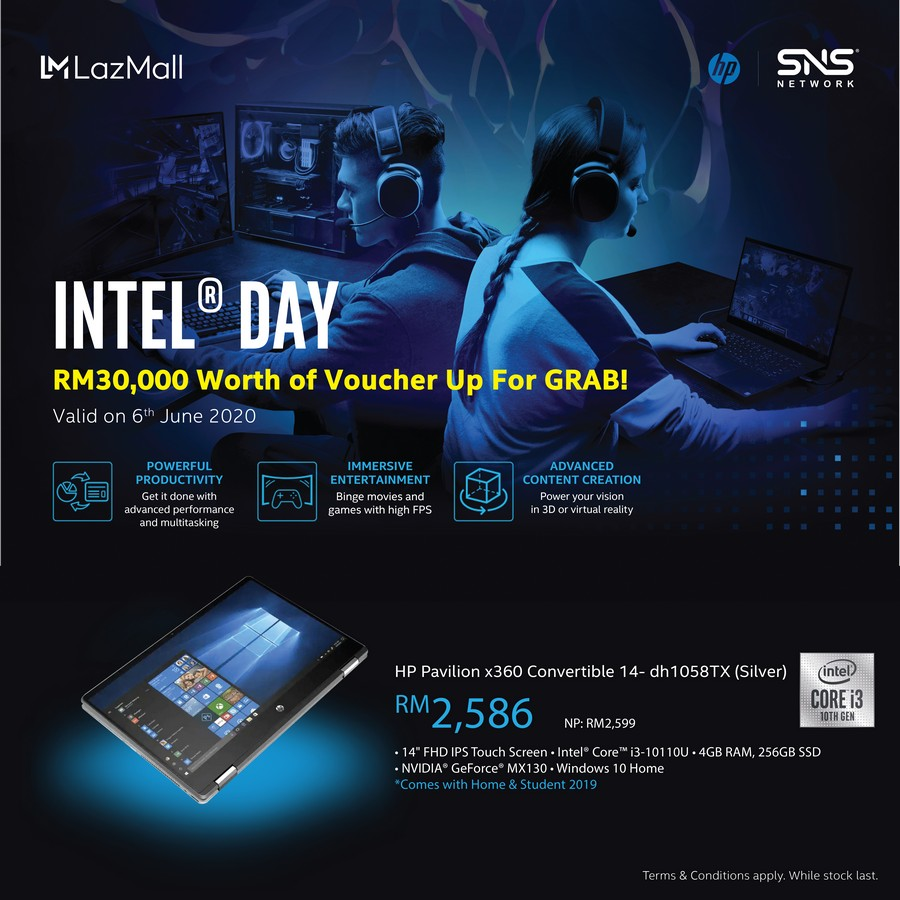 Get The Best Deals on 10th Gen Intel Core HP Laptops to Boost Your Productivity on Intel Day
