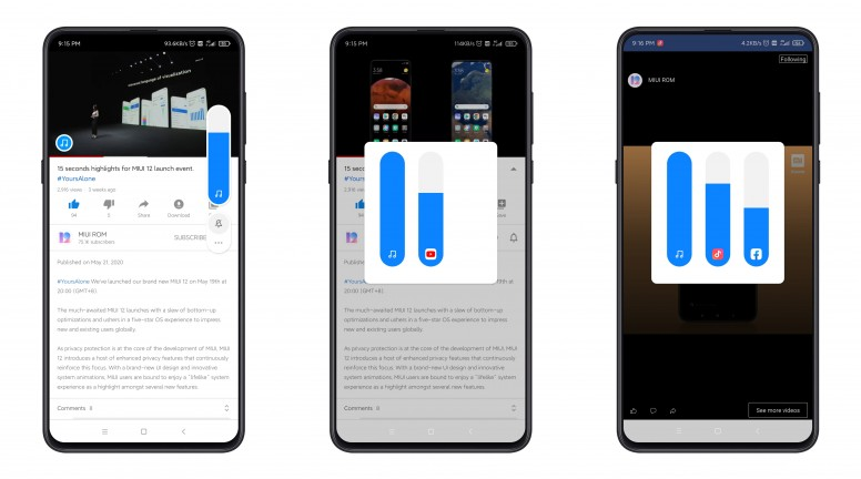 MIUI 12 Sound Assistant offers much improved volume control 25
